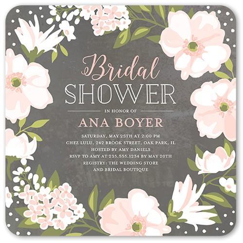 beautiful bouquet bridal shower invitation 5x5 flat productcode 1161630 categorycode 60424 skucode 1161631