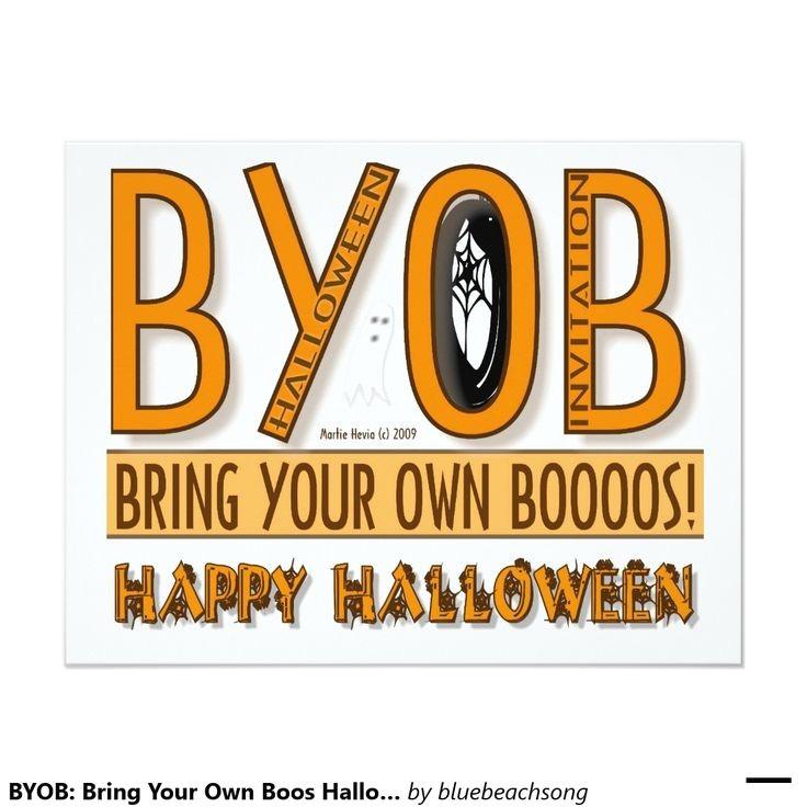 halloween chic invitations
