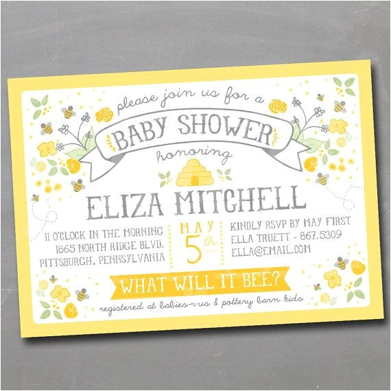 bumble bee invitations