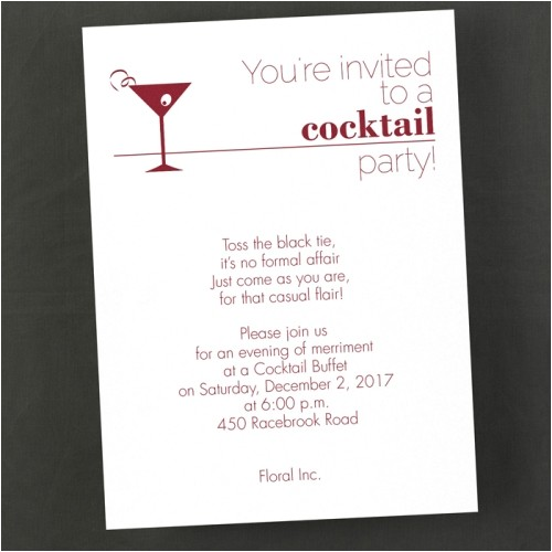 your invited to a cocktail party invitation 2