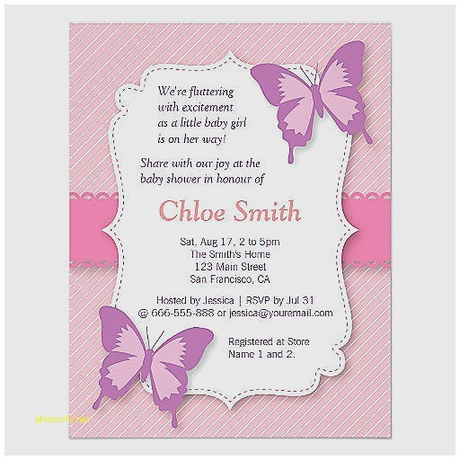 free printable butterfly baby shower invitations