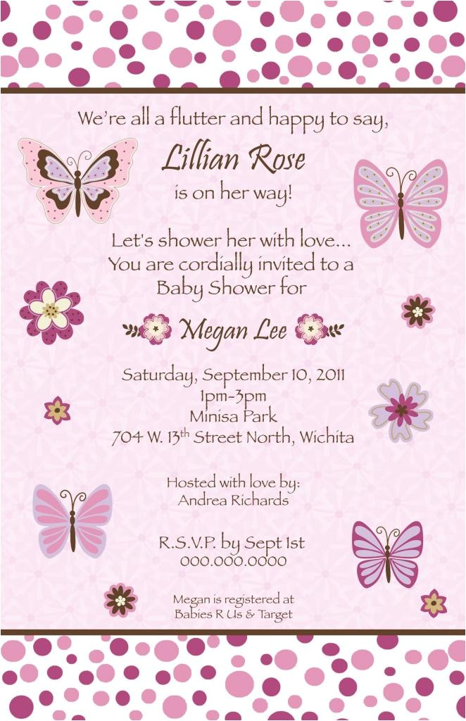 butterfly baby shower invitations printable