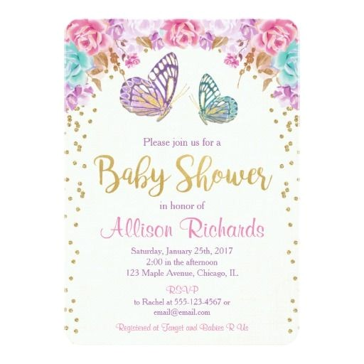 Butterfly Baby Shower Invites Free 346 Best butterfly Baby Shower Invitations Images On