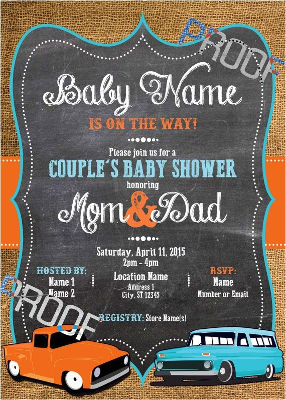 car baby showers