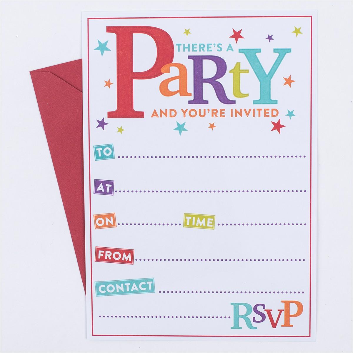 anniversary invitation packs