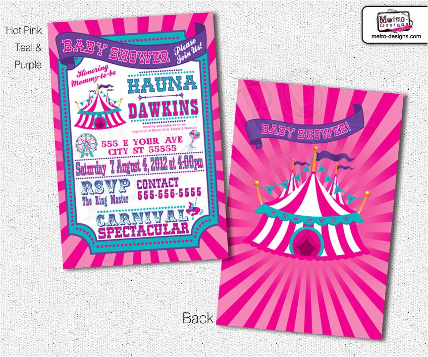 baby shower carnival invitations circus invitations carnival invitation ci