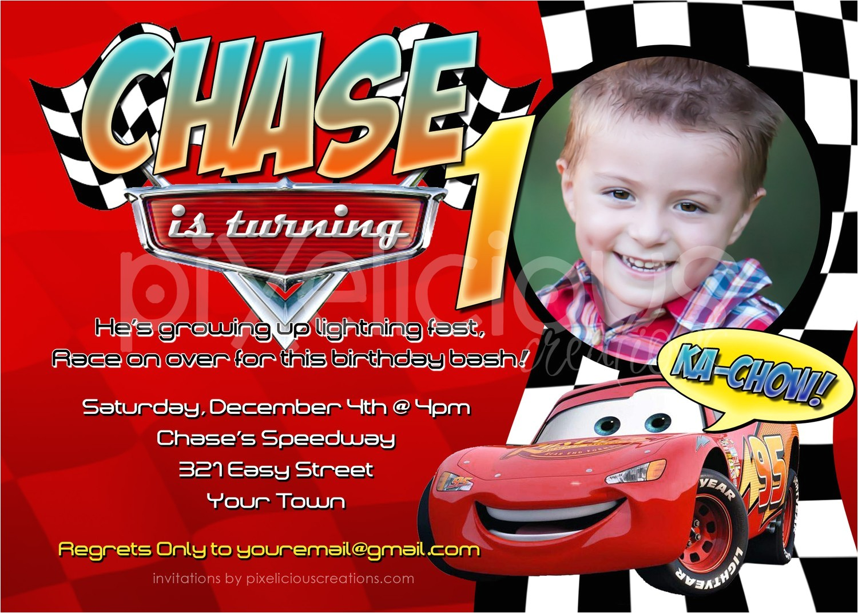 Cars themed Birthday Invitation Card Cars Birthday Invitations Free Ideas Invitations Templates