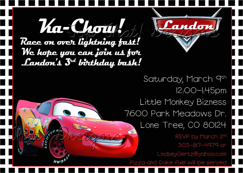 Cars themed Invitation Birthday Cars themed Birthday Invitation Printable by Jenleonardini