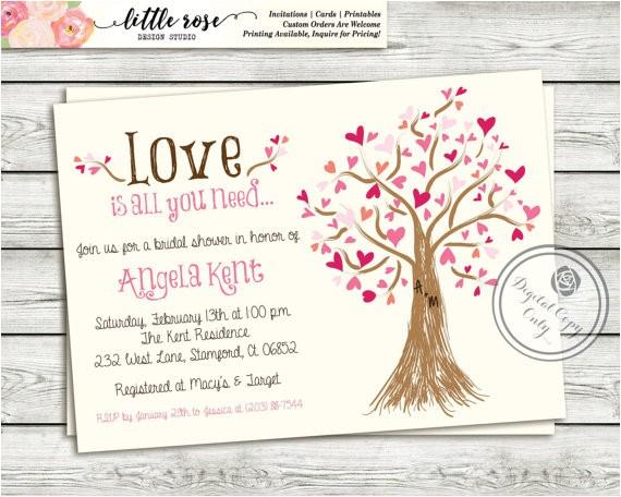 bridal shower invitation wedding shower