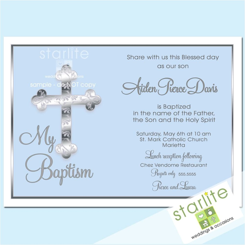 wording for baptism invitations catholic in spanish