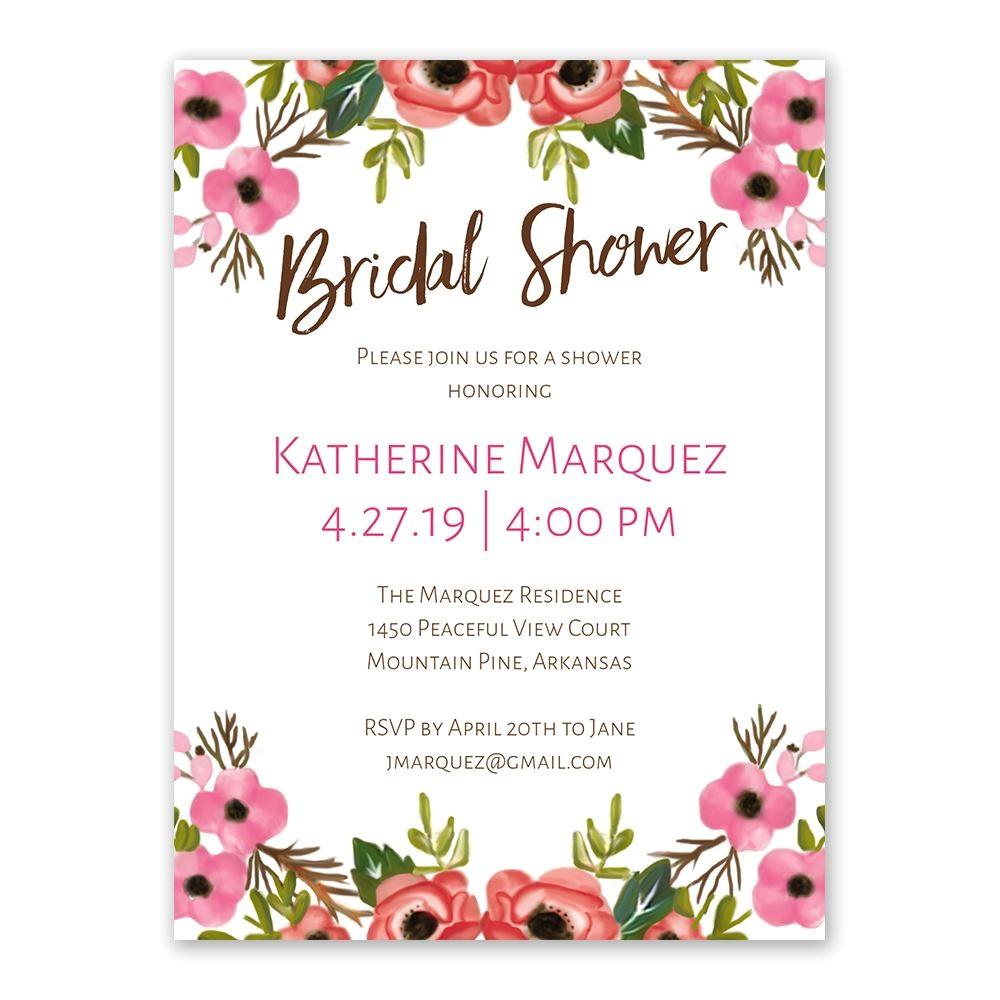 cheap bridal shower invitations canada