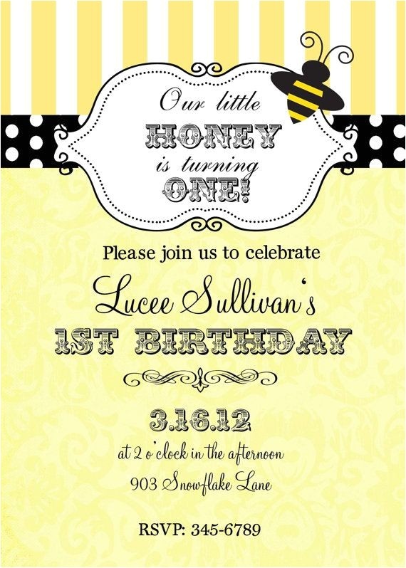 bumble bee birthday