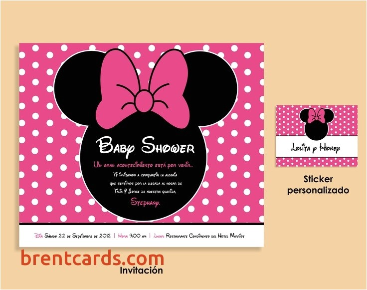 cheap minnie mouse baby shower invitations 109 best images about baby idea s on pinterest