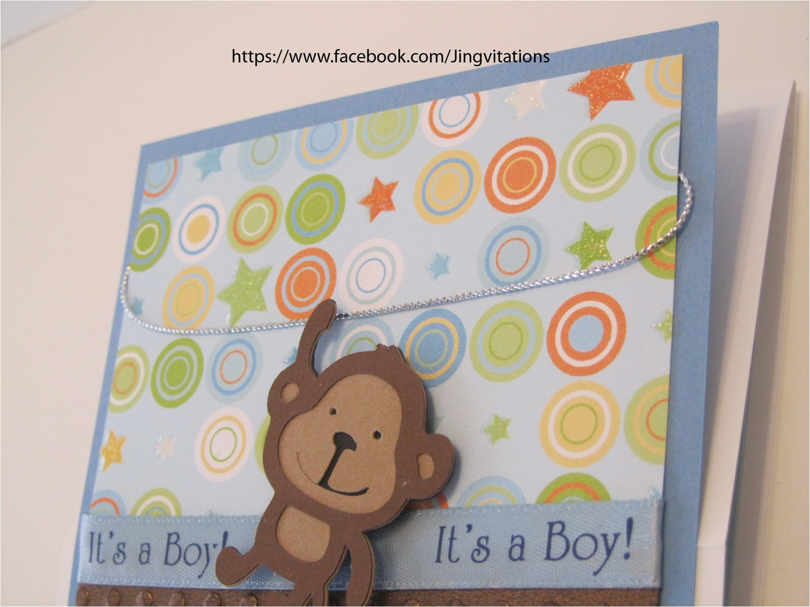 engaging monkey baby shower invitations cheap