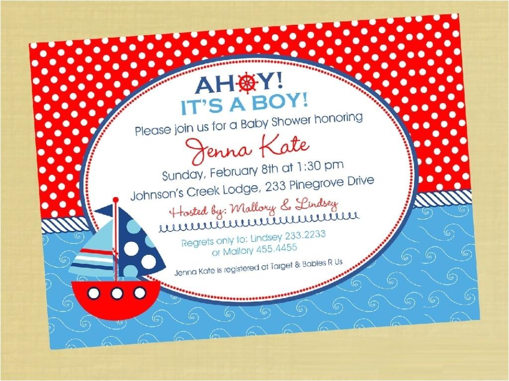 Cheap Nautical Baby Shower Invitations Nautical Baby Shower Invitations Cheap