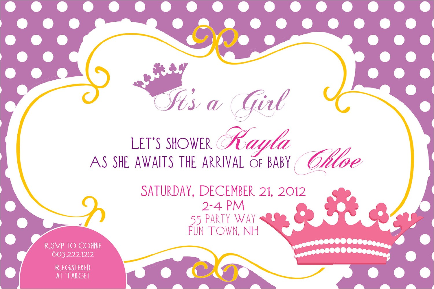 Cheap Princess Baby Shower Invitations Princess Baby Shower Invitations Cheap – Invitations Card