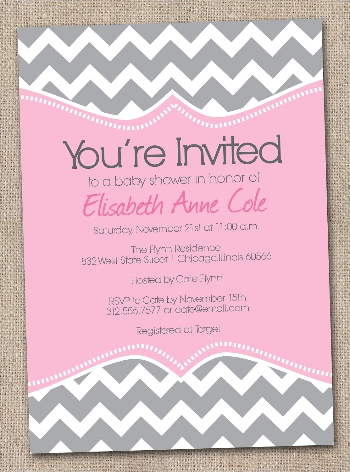 baby shower invitations cheap template