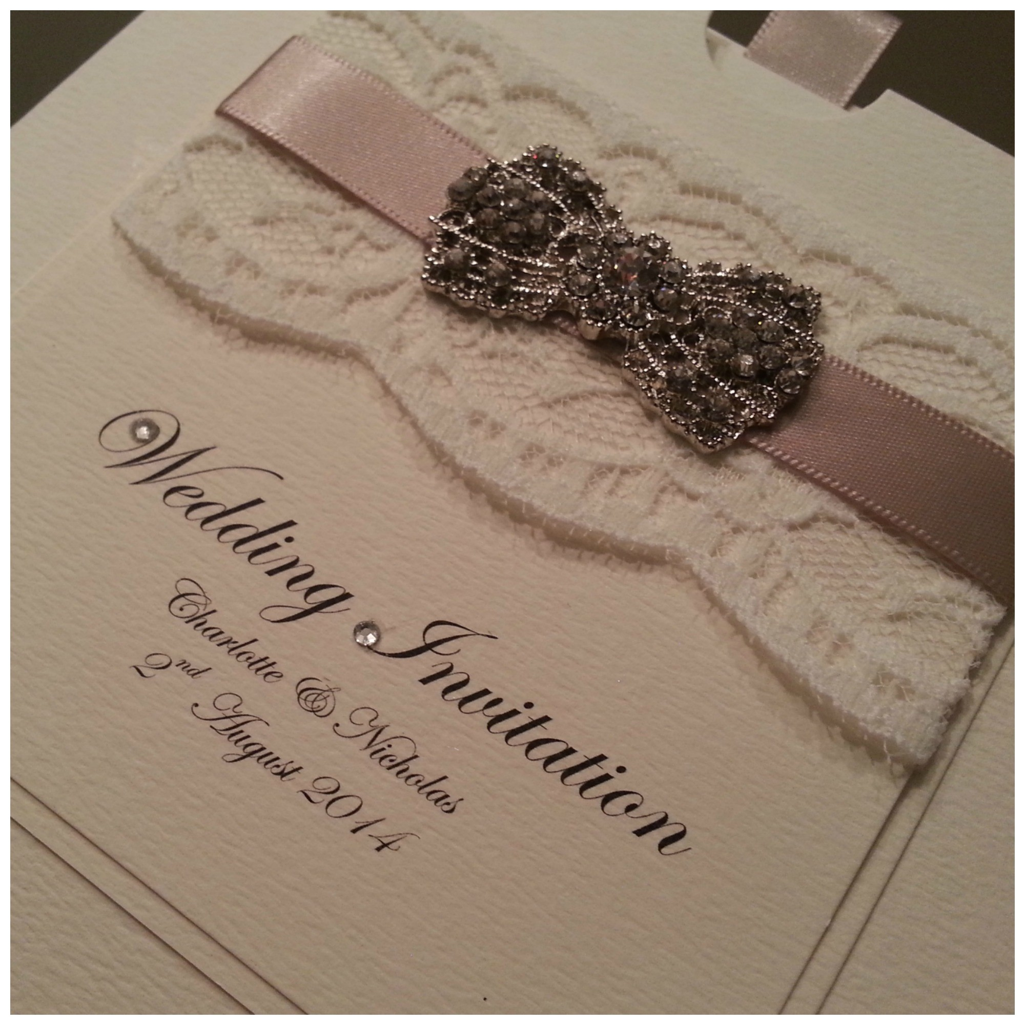 vintage wedding invites cheap