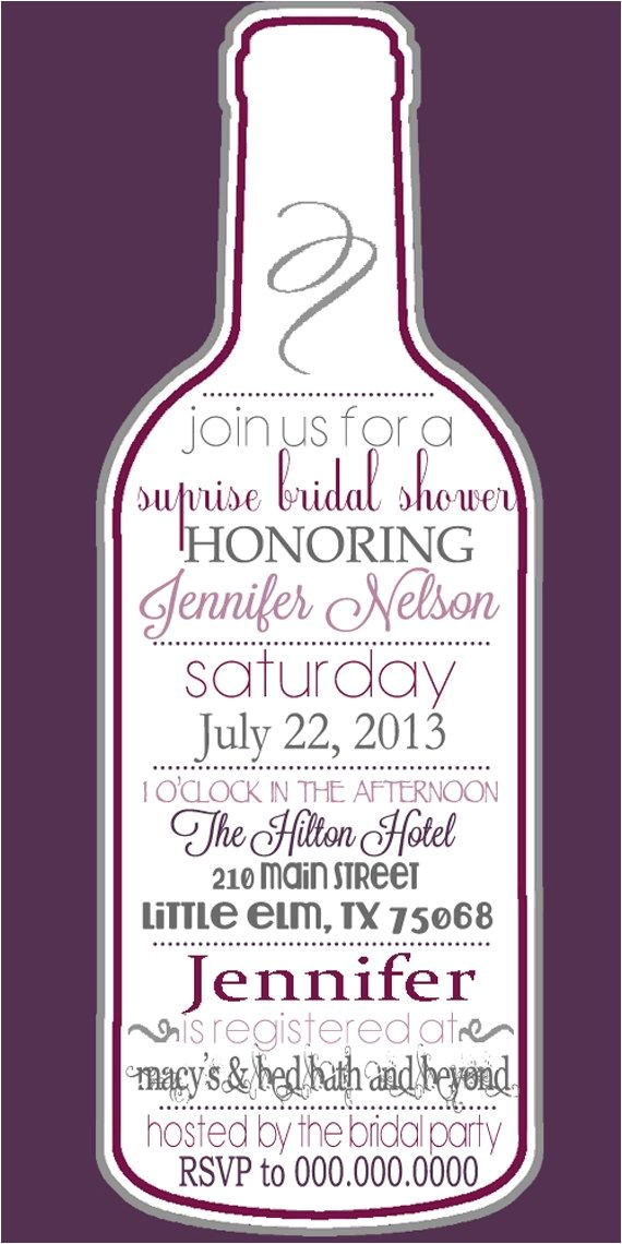 Cheap Wine themed Bridal Shower Invitations Cheap Wine themed Bridal Shower Invitations Mini Bridal