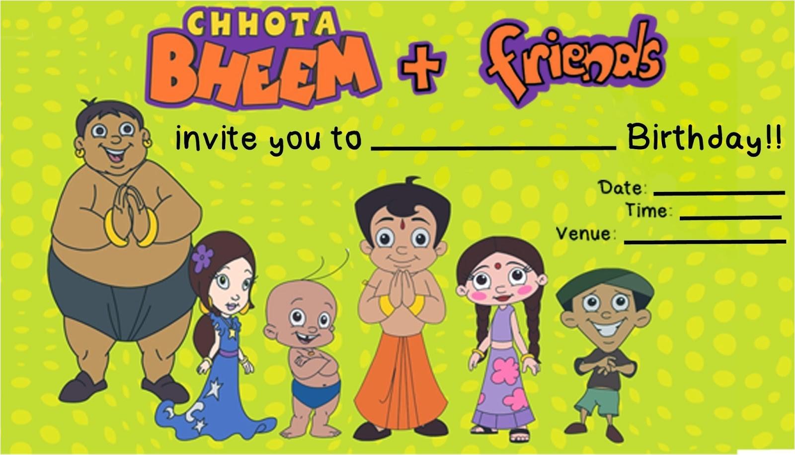friday fun time super easy chota bheem