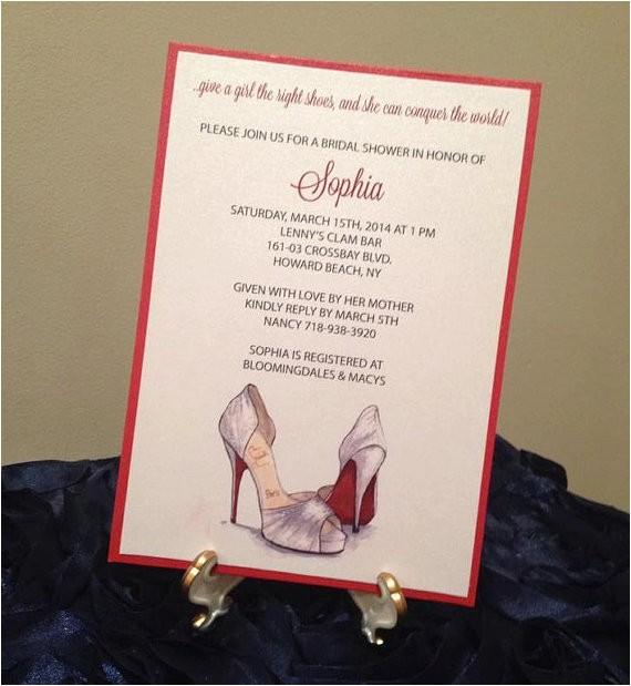 bridal shower invitation christian