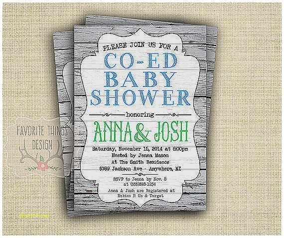Co-ed Baby Shower Invitation Wording Baby Shower Invitation Unique Co Ed Baby Shower
