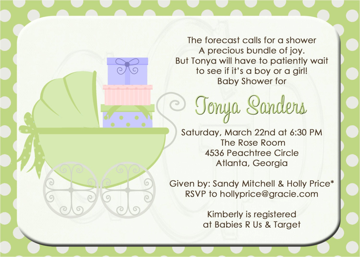 coed baby shower invitation wording examples