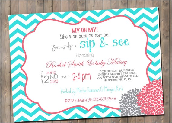 e and go baby shower invitation wording