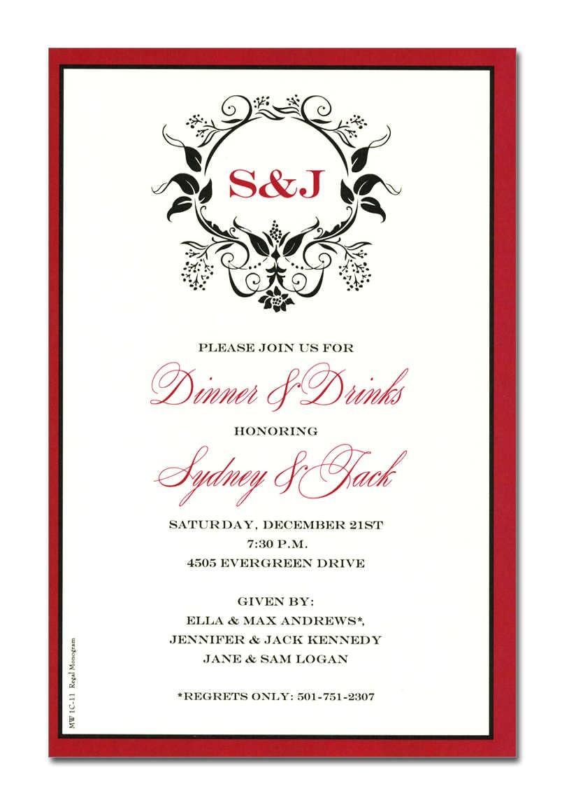 formal business invitations corporate invitations