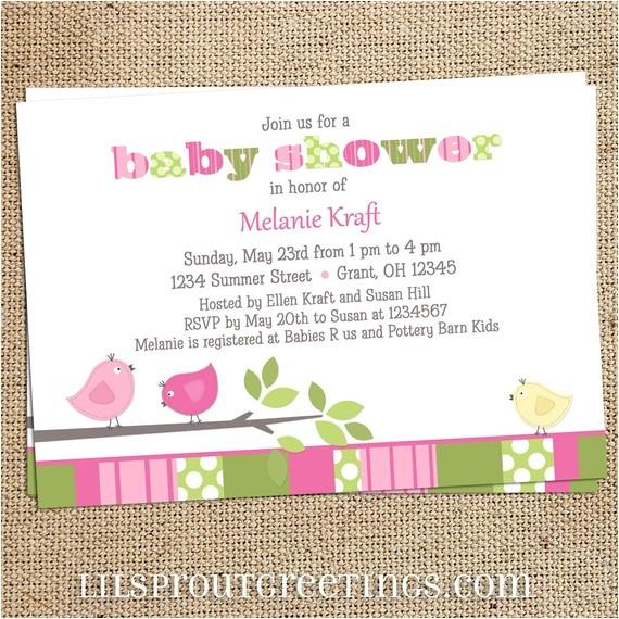 costco baby shower invitations