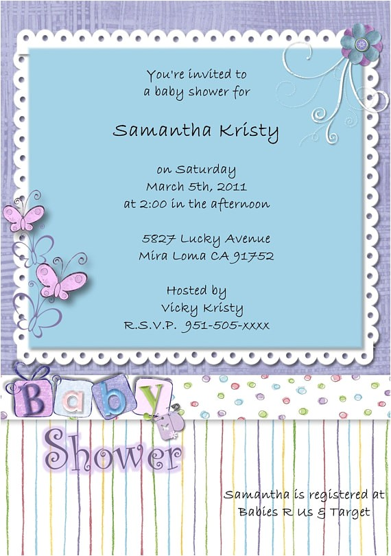 new baby shower invitations at costco