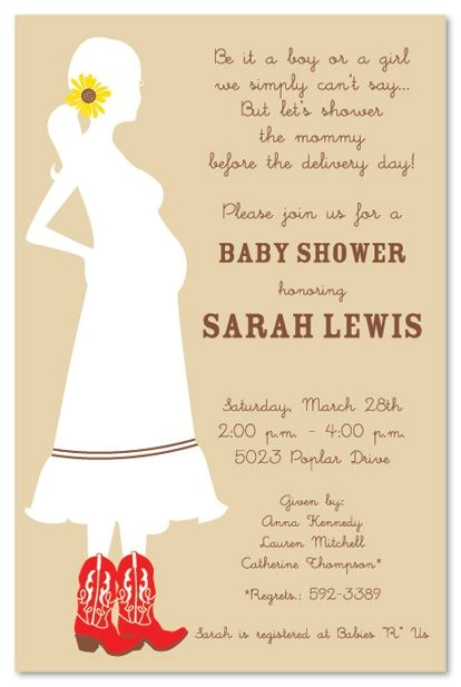 a country baby boy shower