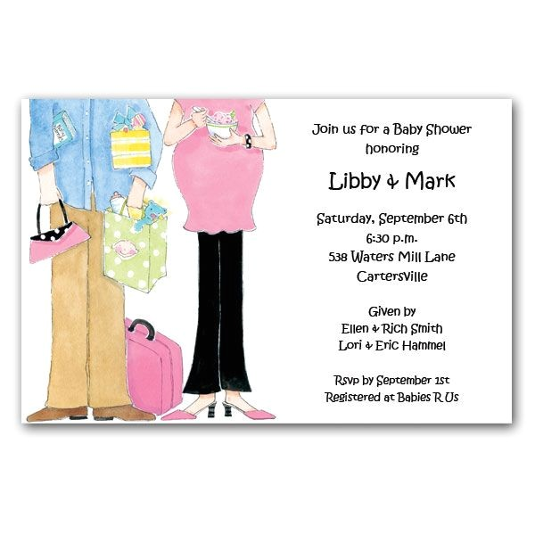 Expecting Couple Baby Shower Invitations p 73 PI