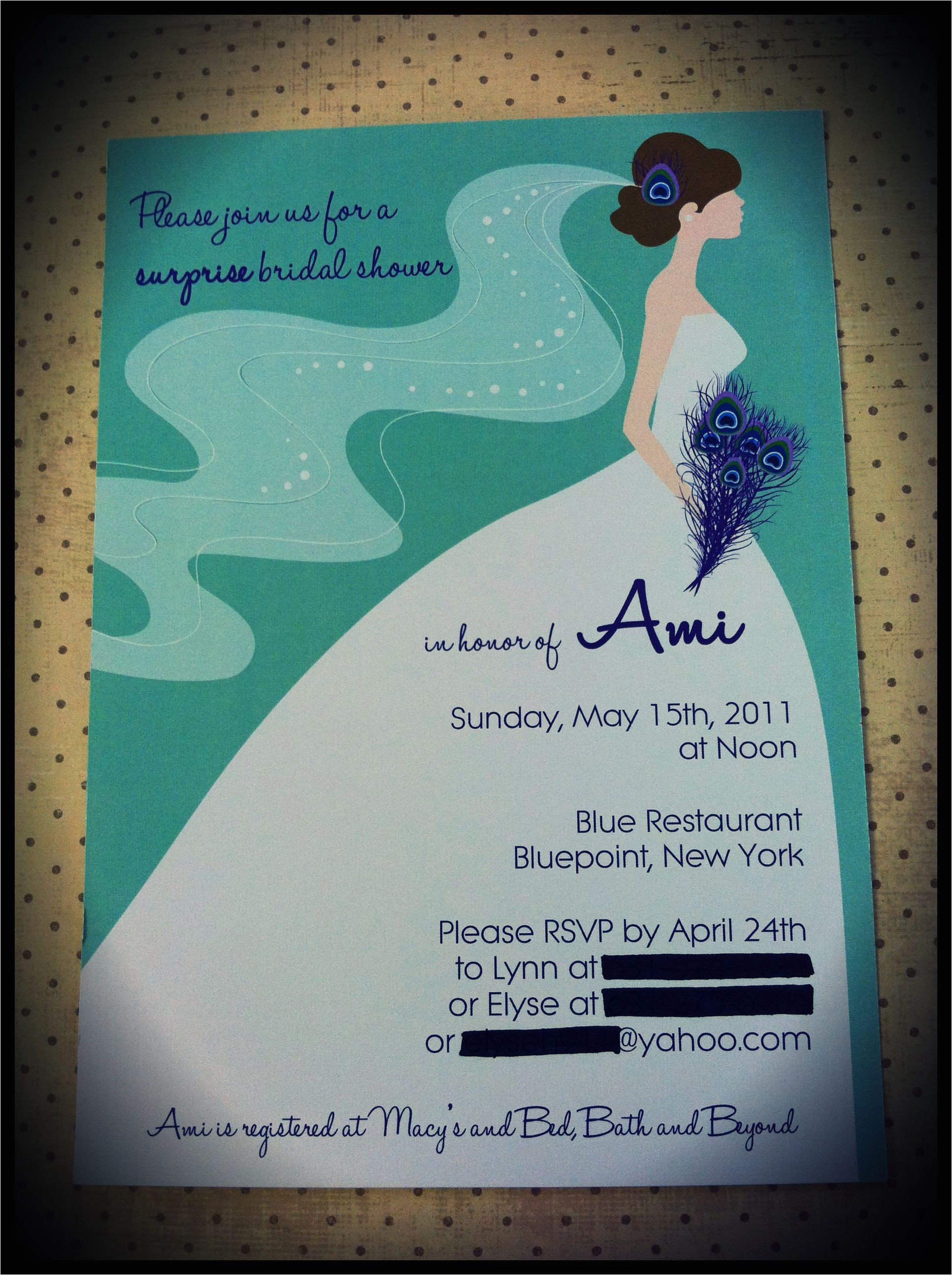 couples bridal shower invitation wording