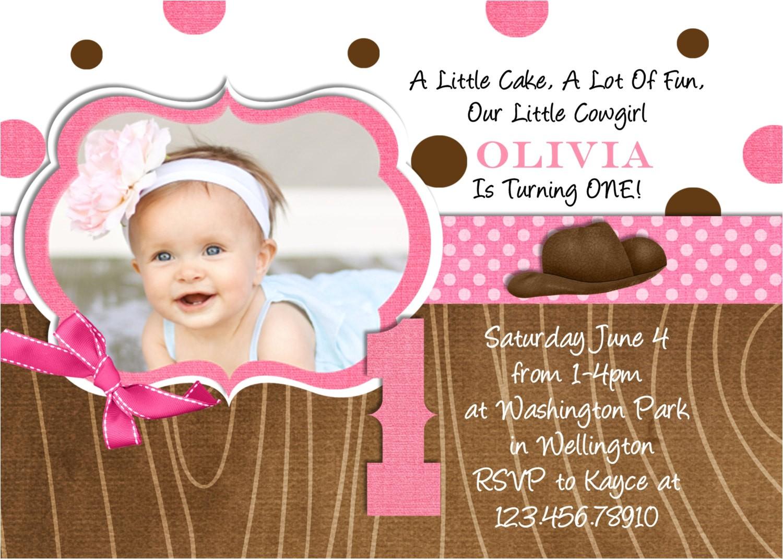 little cowgirl western birthday