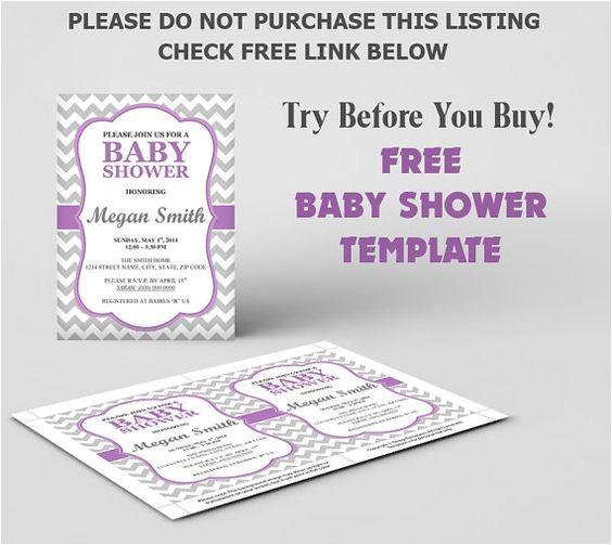 free baby shower invitation templates microsoft word