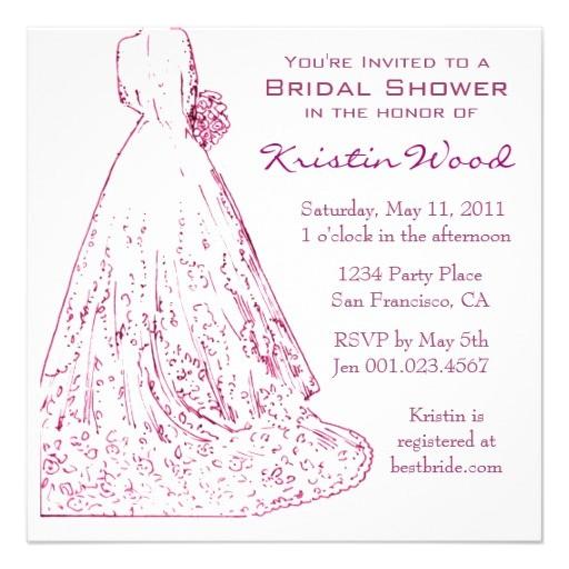 create bridal shower invitations free
