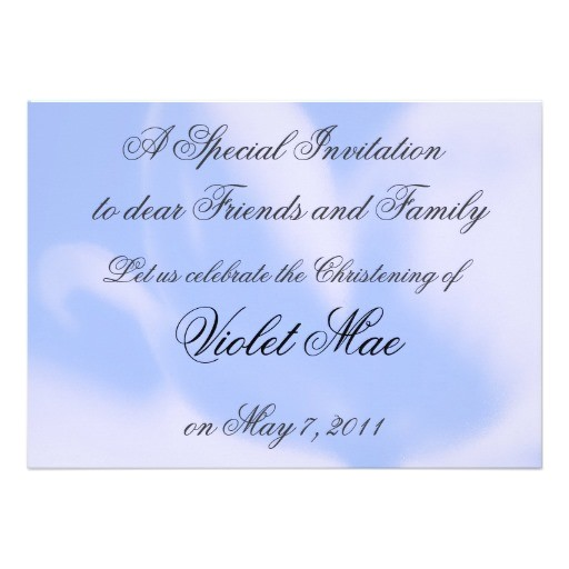 baptism invitation templates