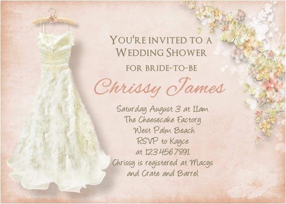 bridal shower invitations creative