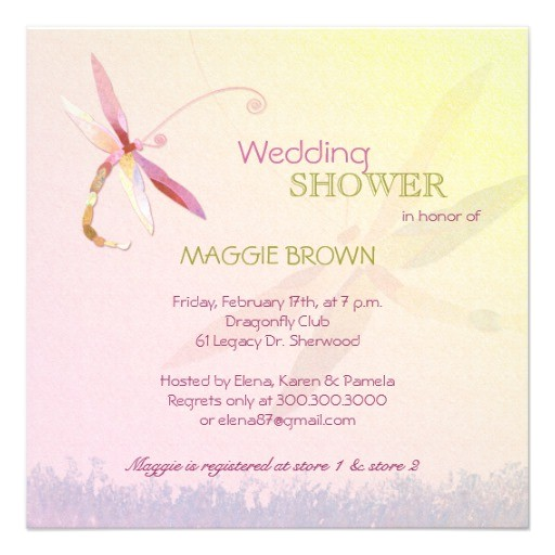bridal shower invitations unique