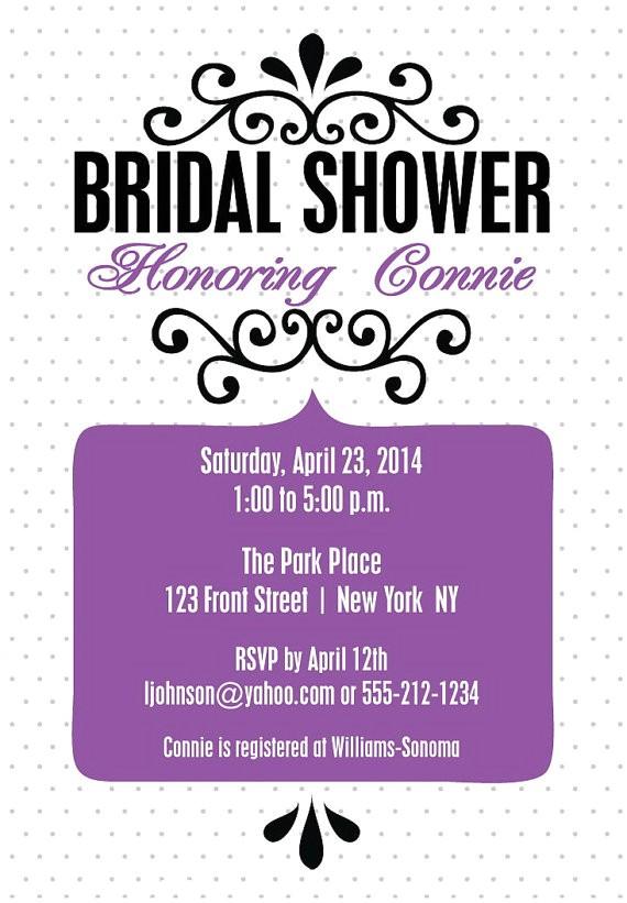 bridal shower invitations unique wedding shower invitation