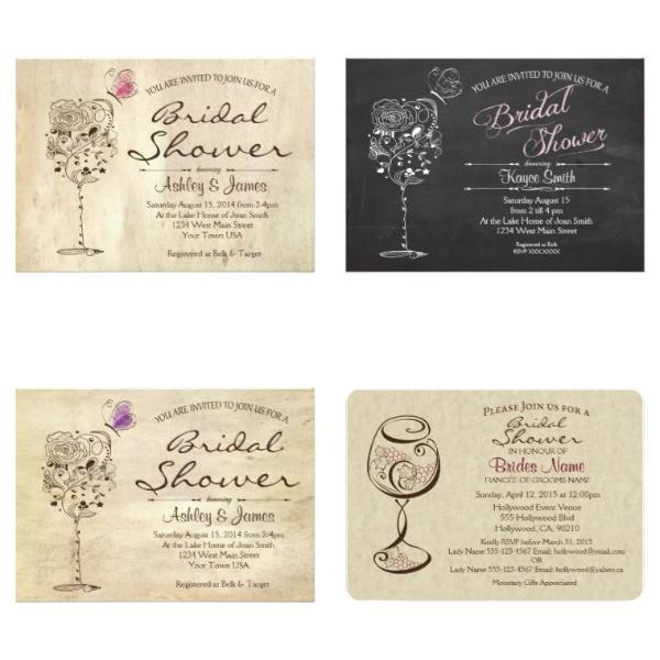 premium bridal shower invitations