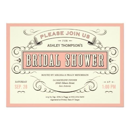 unique vintage bridal shower invitations 161440380245641345