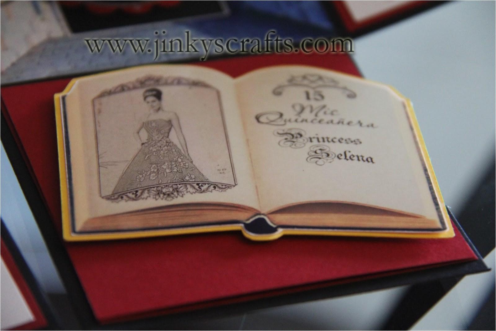 Creative Quinceanera Invitations Jinky 39 S Crafts Designs Disney Inspired Creative Invitations
