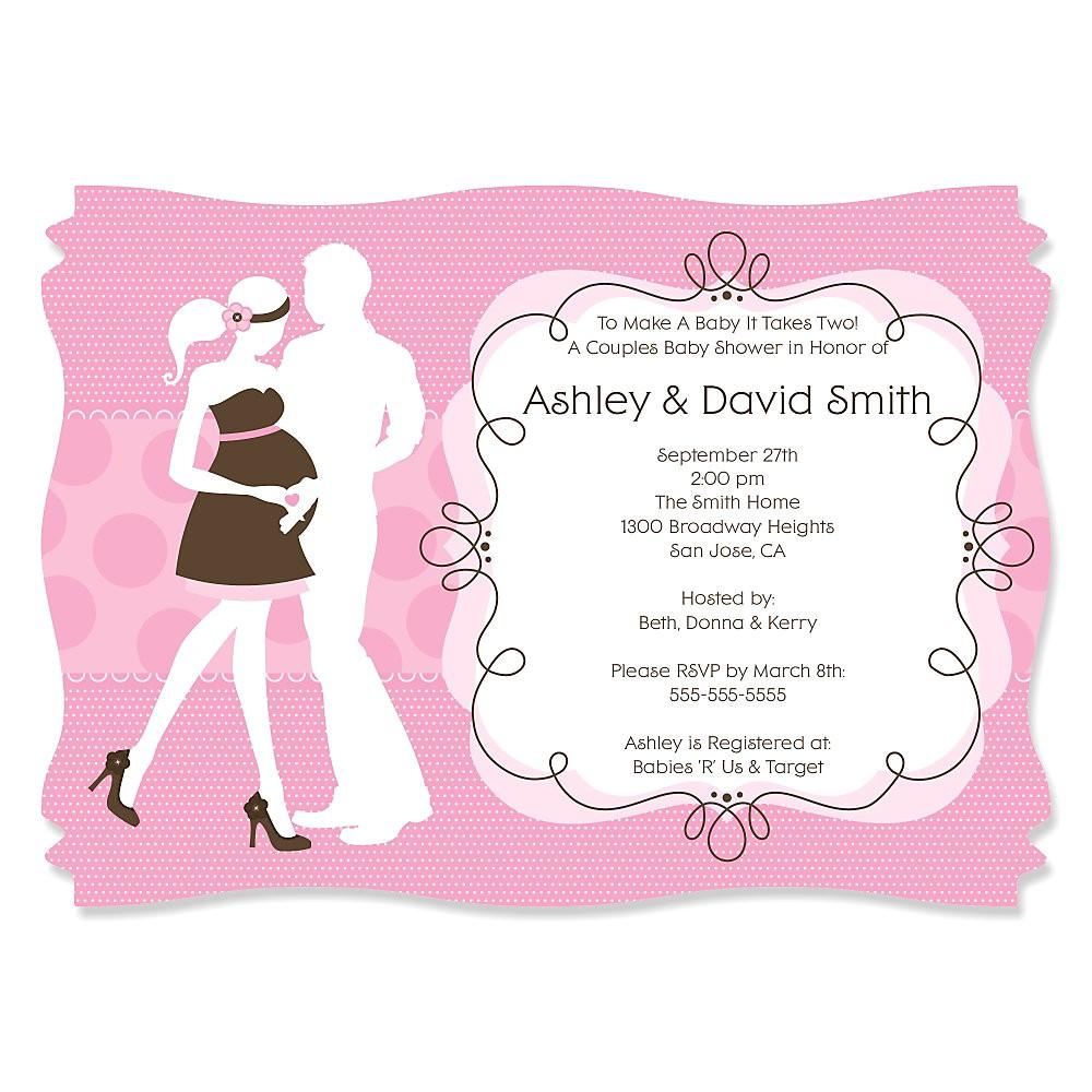 custom baby shower invitations for girl