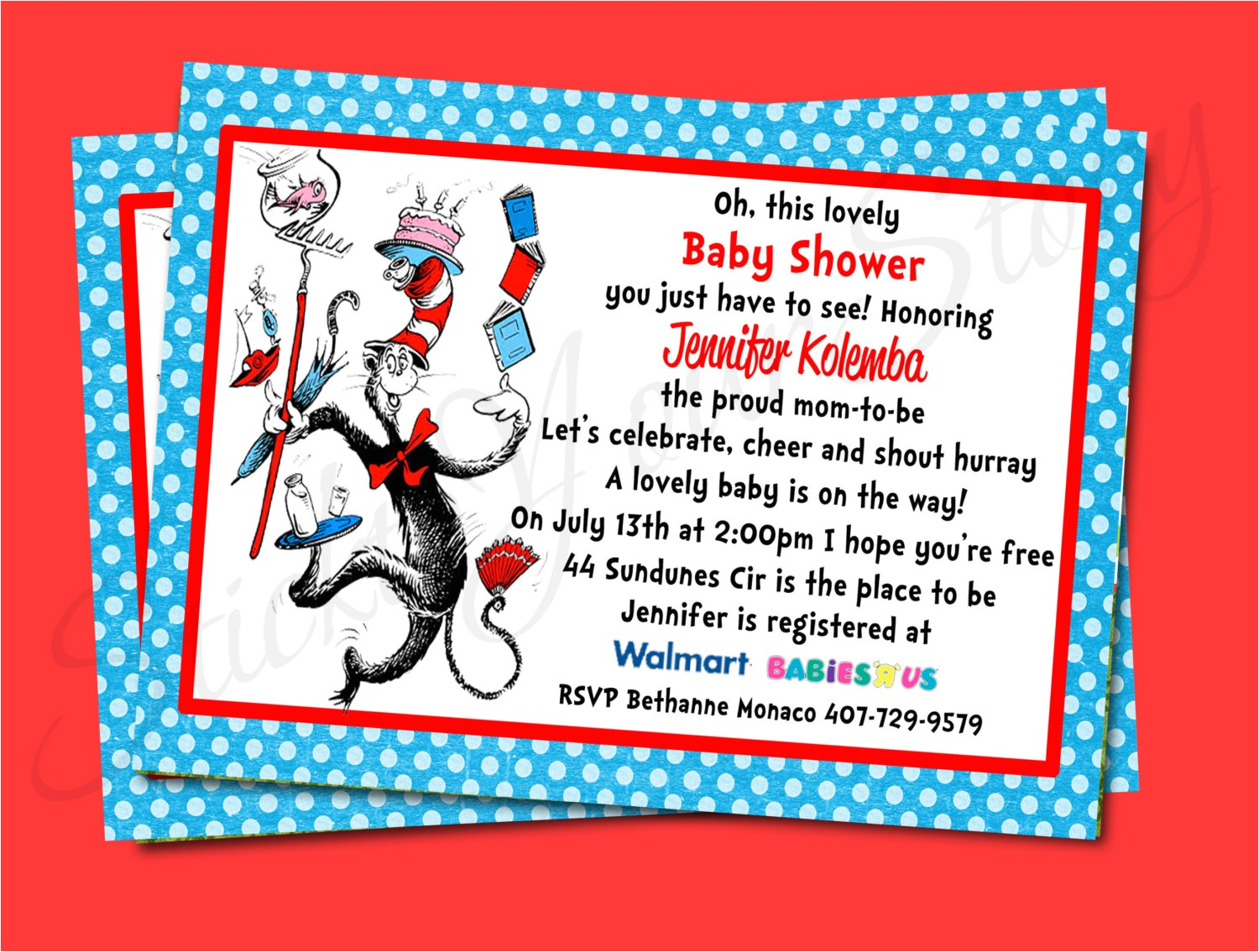 printable invitations dr seuss baby