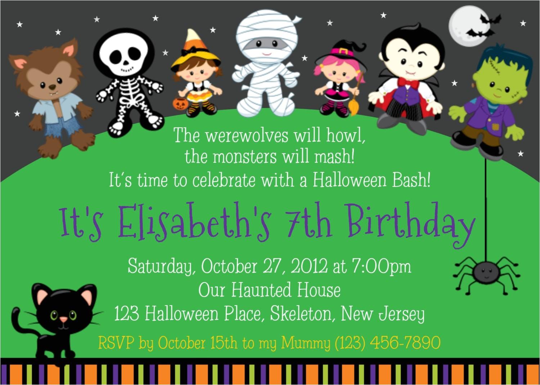 trick or treat halloween birthday