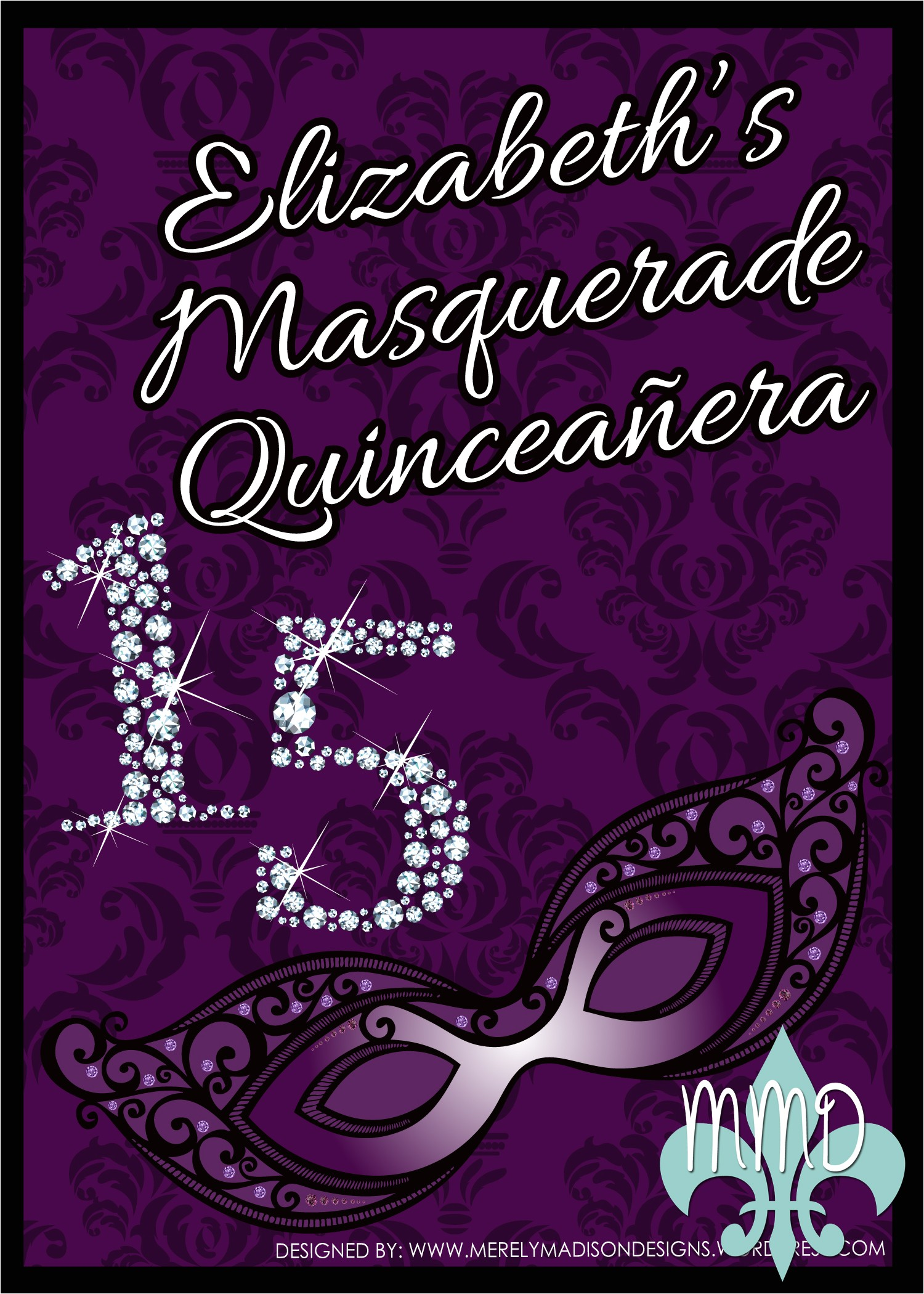 custom quinceanera invitations