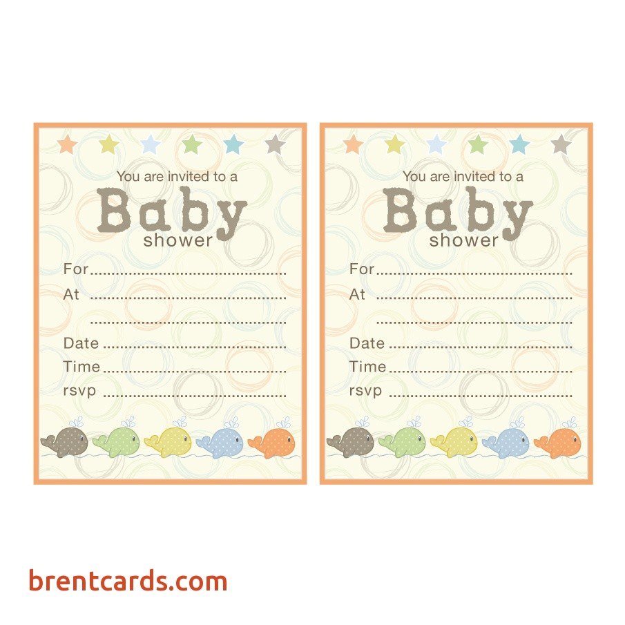 make your own baby shower invitations ideas
