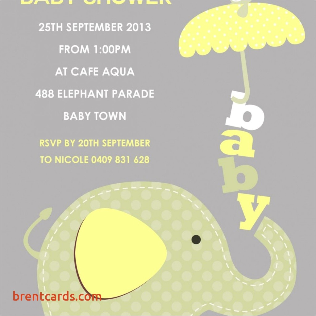 customized baby shower invitations